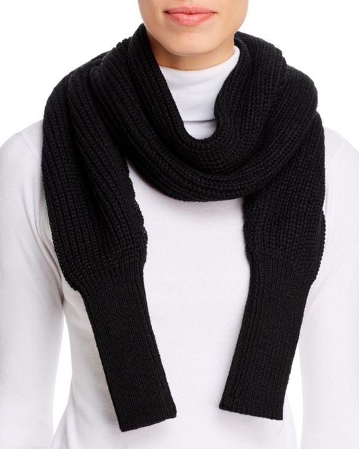 Echo Black Convertible Scarf