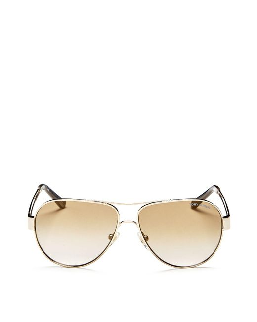 Tory Burch - Metallic 55mm - Lyst