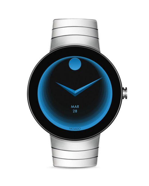 Movado - Black Movado Connect Smart Watch, 44.5mm - Lyst