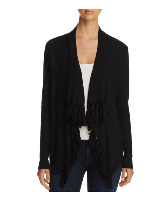 4our Dreamers | Black Open Cardigan | Lyst