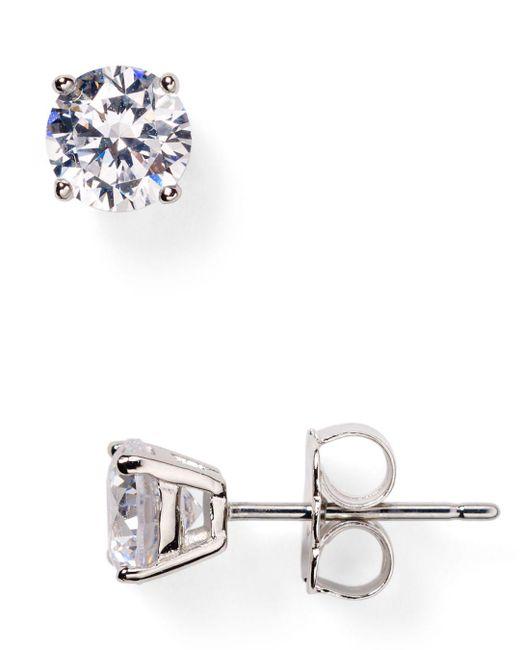 Nadri Metallic Stud Earrings