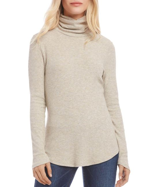 Karen Kane Multicolor Turtleneck Sweater