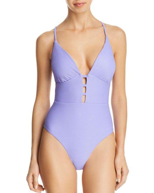 1006744b750f3 Red Carter - Purple Riviera Sunset One-piece Swimsuit - Lyst ...