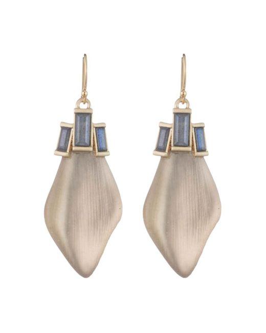 Alexis Bittar - Multicolor Baguette Drop Earrings - Lyst