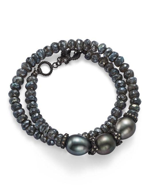 Armenta - Tahitian South Sea Black Pearl - Lyst