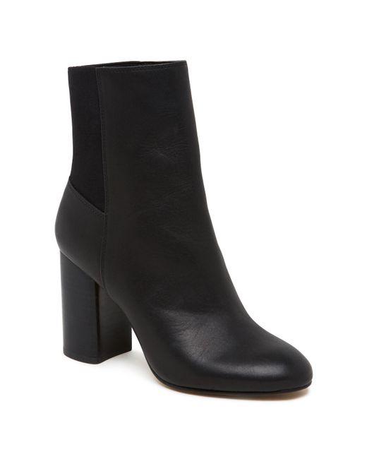 Dolce Vita - Black Women's Ramona Leather Booties - Lyst