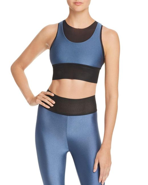 Koral - Blue Utopia Sprint Racerback Sports Bra - Lyst