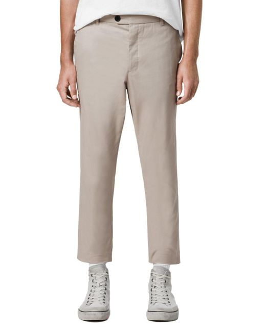 AllSaints Multicolor Kato Slim Fit Dress Pants for men