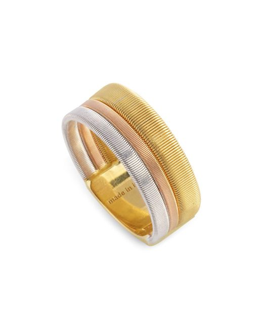 Marco Bicego - Metallic Rose & White Gold Goa Ring - Lyst