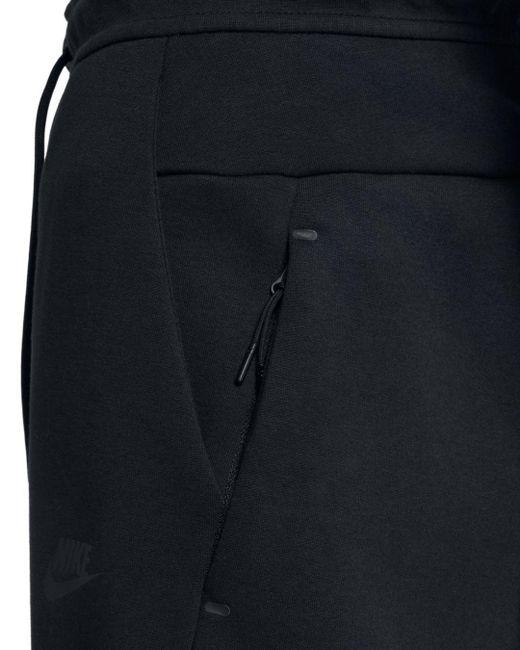 d905bf17b98a7e ... Nike - Black Tech Fleece Sweatpants for Men - Lyst ...
