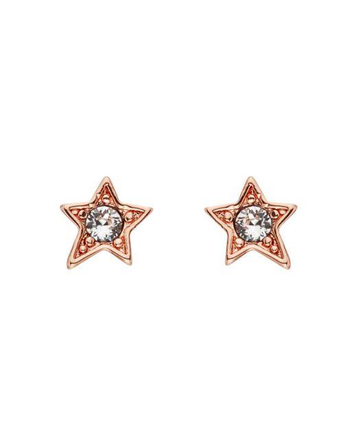 Karl Lagerfeld Multicolor Mini Rocky Star Earrings