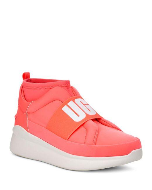 Ugg Pink Women's Neutra Neon Sneakers