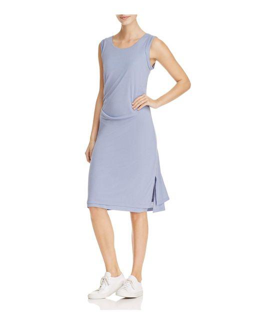 B Collection By Bobeau | Blue Julia Draped Knit Dress | Lyst