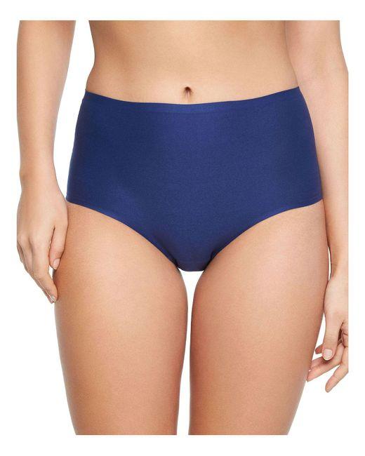 Chantelle - Blue Soft Stretch One-size Briefs - Lyst