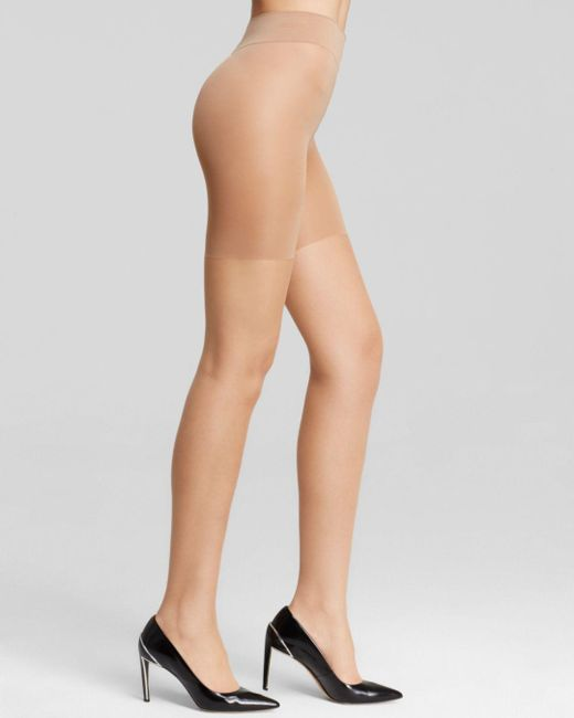 d81a60ed7 Wolford - Multicolor Luxe 9 Control Top Tights - Lyst