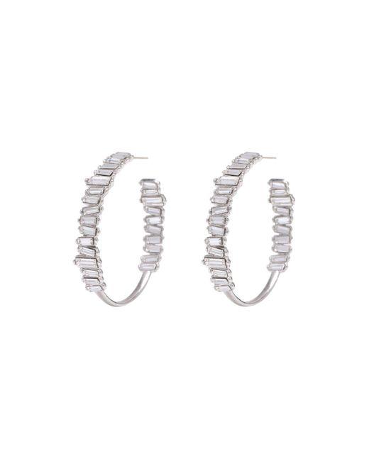 Melissa Lovy | Metallic Serena Hoop Earrings | Lyst