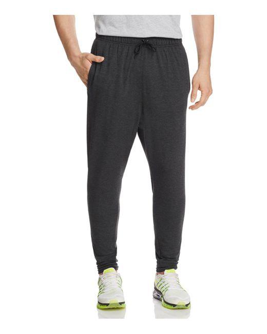 Nike   Black Dri-fit Regular Fit Training Pants for Men   Lyst
