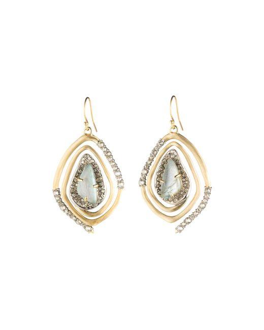 Alexis Bittar - Metallic Geo Spiral Drop Earrings - Lyst