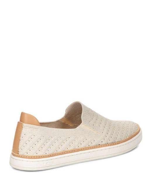 89a34d3fdae Women's Sammy Chevron Metallic Knit Slip - On Sneakers