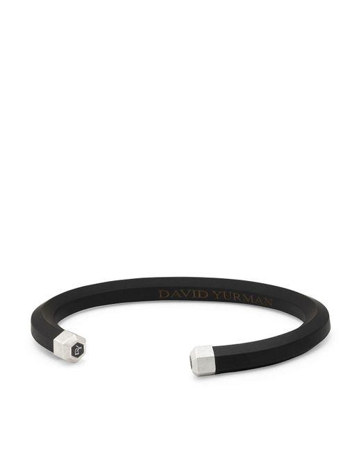David Yurman - Men's Hex Cuff Bracelet In Black for Men - Lyst