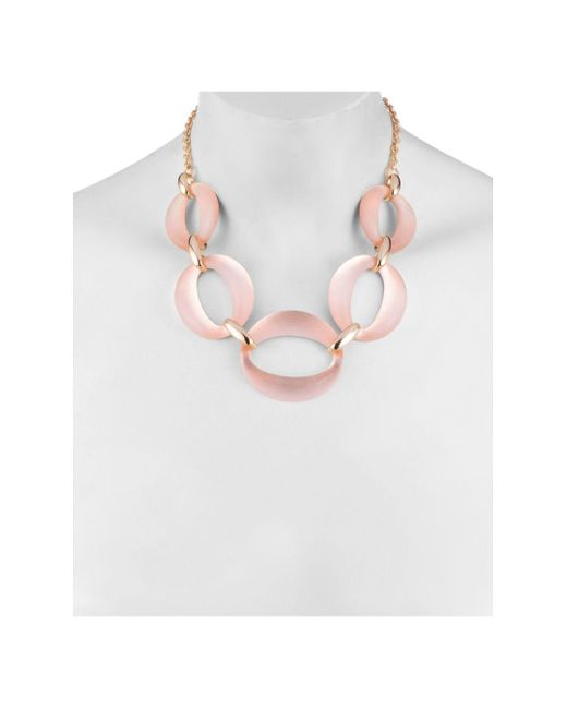 Alexis Bittar Multicolor Large Lucite Link Necklace
