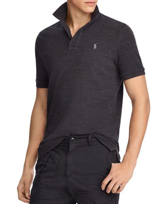 Polo Ralph Lauren Blue Classic-fit Cotton Mesh Polo Shirt for men