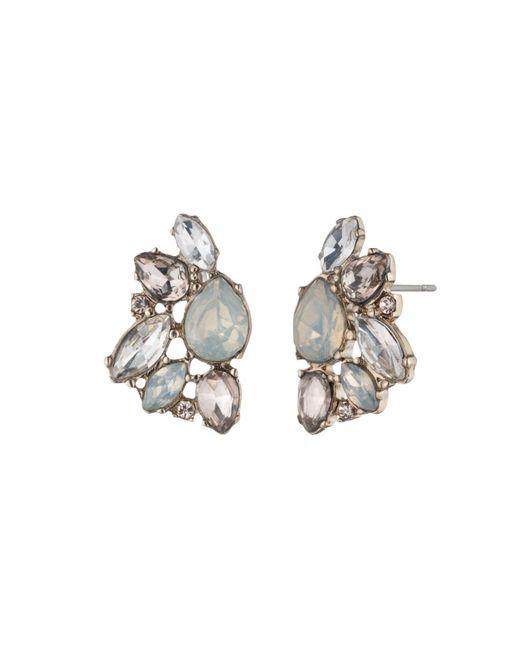 Marchesa | Metallic Cluster Earrings | Lyst