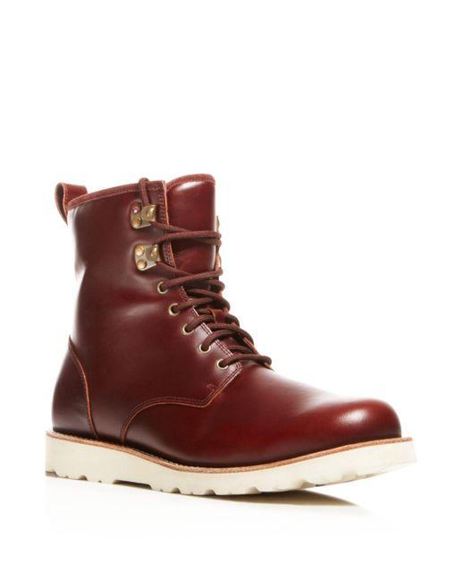 Ugg | Red Hannen Tl Waterproof Boots | Lyst