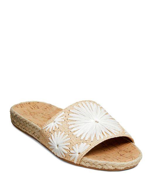 Jack Rogers White Jack Rodgers Women's Bettina Slide Sandals