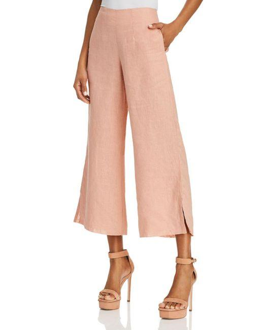 Faithfull The Brand - Pink Carmen Wide-leg Pants - Lyst