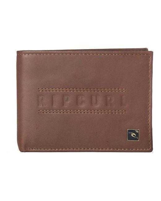 Classic RFID All Day Wallet marrón Rip Curl de color Brown