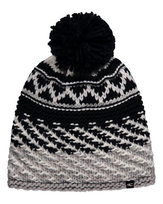 Snowfall Beanie negro O'neill Sportswear de color Black