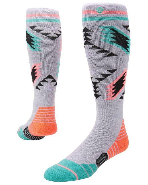 Stance Gray Chickadee Tech Socks