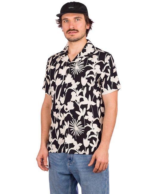 Rhythm Melrose Linen Shirt in Black für Herren