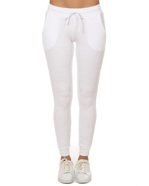 Cotton Citizen - Monaco Thermal Jogger White - Lyst