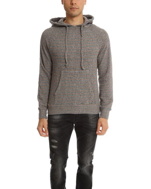 V :: Room Brown Pullover Hoodie Sweater for men