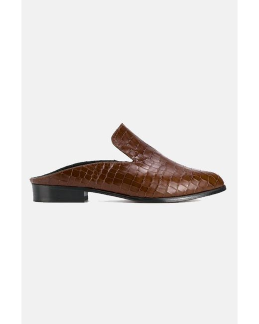 Clergerie Brown Alice Mules