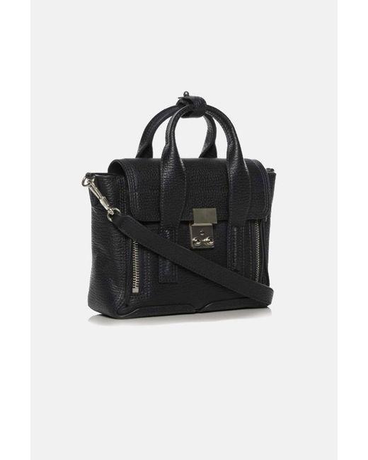 3.1 Phillip Lim Black Pashli Mini Leather Satchel