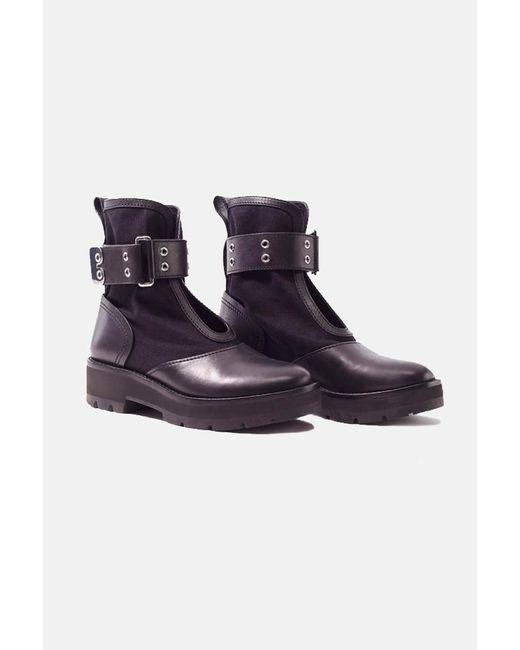 3.1 Phillip Lim Black Cat Combat Boot Shoes