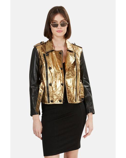 3.1 Phillip Lim Metallic 3.1 Leather Jacket
