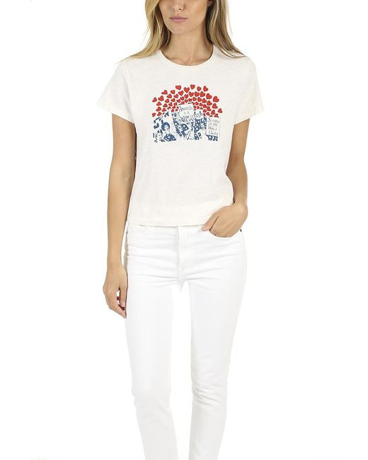 Re/done - White Women Of The World Classic Tee - Lyst
