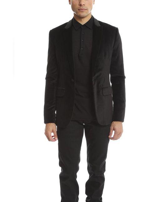 Shipley & Halmos - Black Velvet Blazer for Men - Lyst