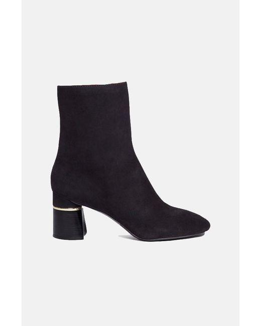 3.1 Phillip Lim Black Drum Boot Shoes