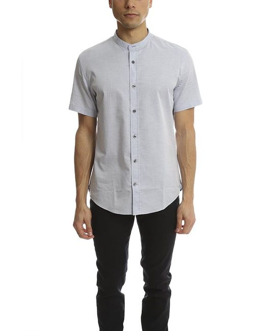 Vince - Blue Melrose Collar Shirt for Men - Lyst