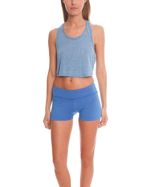 Alternative Apparel   Blue Keep Your Cool Top   Lyst
