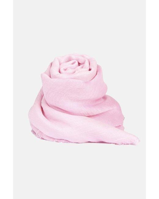 Faliero Sarti Pink Valzer Scarf