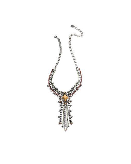 DANNIJO - Metallic Nadeen Necklace - Lyst