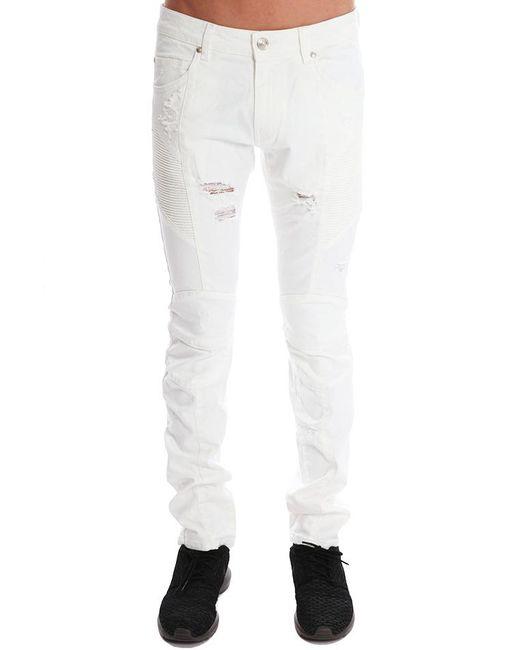 Balmain | White Jeans | Lyst
