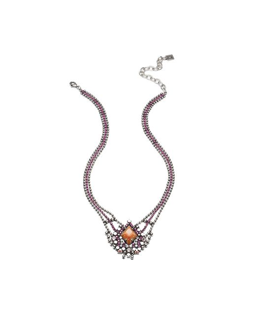 DANNIJO | Metallic Ivanna Necklace | Lyst
