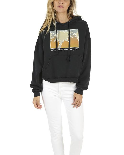 Re/done - Black Oversized Palm Hoody - Lyst